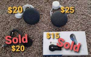 2 Google mini, Chomecast for Sale in Phoenix, AZ