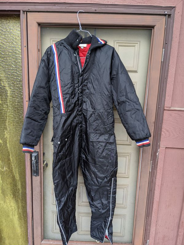 Vintage Sno King Snow Snowmobile Suit Ski Made USA Women's Large L