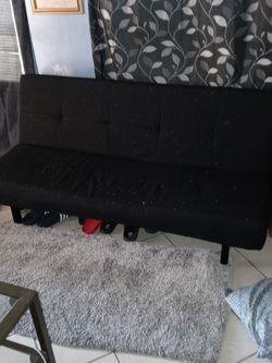 brand new twin sofa futon black for Sale in La Puente,  CA