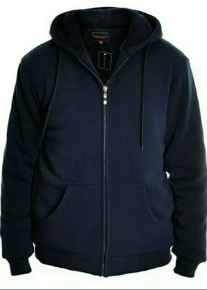 XL espada men's full zipper hoodie jacket navy blue for Sale in Aurora, CO