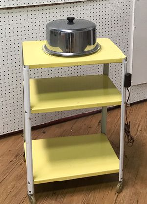 Mid century rolling kitchen cart for Sale in San Diego, CA