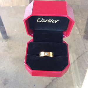 New Cartier Ring Size 7 (Gold Color) for Sale in Los Angeles, CA