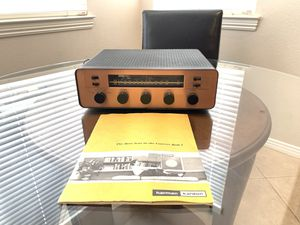 Harman Kardon TA-10 vintage tube mono receiver for Sale in San Marcos, CA