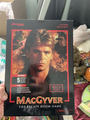 MacGyver The Escape Room Game for Sale in Sykesville, MD