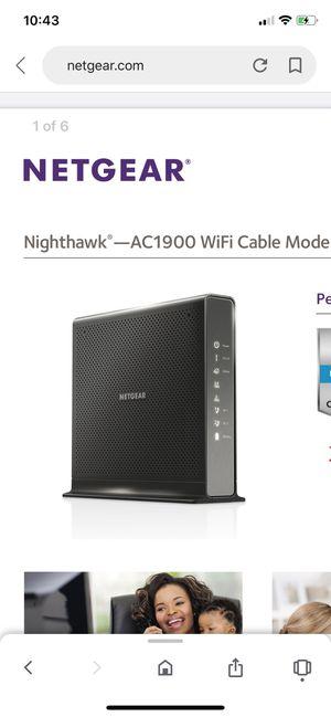 Netgear WiFi router for Sale in Manassas, VA