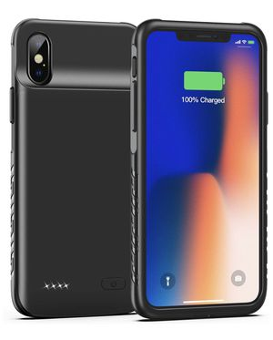 Battery Case for iPhone X XS 10, 4000mAh Slim Portable Charging Case for Sale in Washington, DC