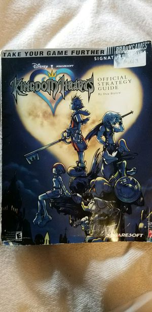 Kingdom Hearts hd 1.5 remix with original strategy Guide for Sale in Seattle, WA