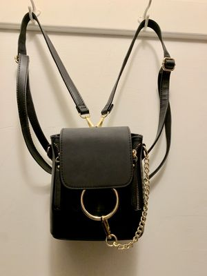 Mini chic black backpack for Sale in Boston, MA
