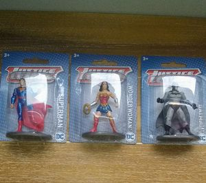 "New Justice League 3"" Mini Figures - Batman, Spiderman & Wonder Woman for Sale in Nashville, TN"