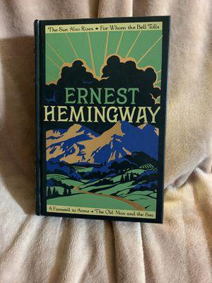 Hard Cover Ernest Hemingway 4 novels for Sale in Carson, CA