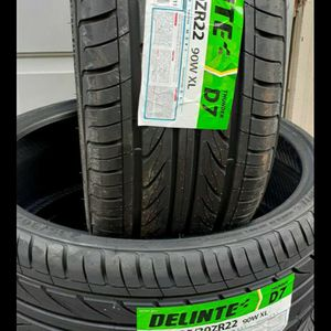 235/30/22 DELINTE THUNDER D7 NEW LOW PROFILE TIRES for Sale in Fort Mill, SC