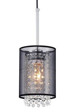 Mini Chandeliers 1 Light Modern Crystal Net Yarn Shade Ceiling Lamp Light Fixture Modern Kitchen for Sale in Toledo, OH