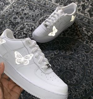 Air Force 1 reflective butterfly for Sale in South Gate, CA