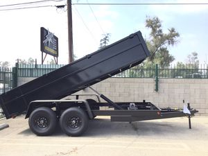 8x14x2 DUMP TRAILER for Sale in Rancho Cucamonga, CA