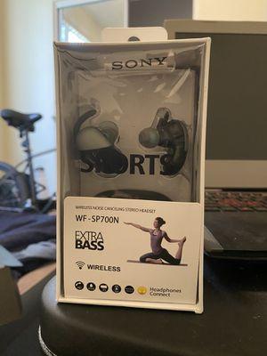 SONY WF-SP700N True Wireless Ear Buds for Sale in Scottsdale, AZ