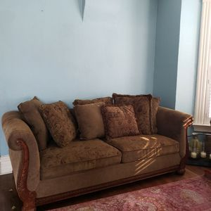7ft Sofa And Chair for Sale in Wheat Ridge, CO