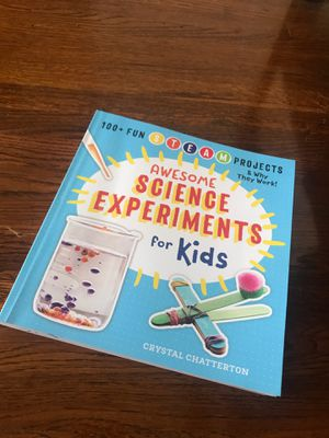 Science experiment book for kids for Sale in Walnut Creek, CA
