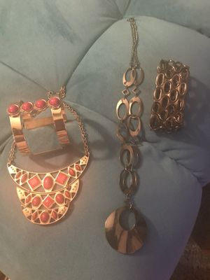 Necklaces and bracelets for Sale in Houston, TX