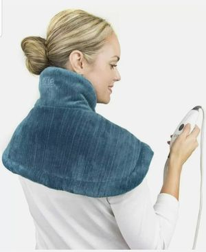 Pure Enrichment PureRelief Neck and Shoulder Heating Pad (Turquoise Blue) for Sale in Garden Grove, CA
