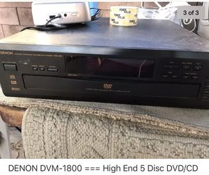 DVD Changers and stereo systems. Prices negotiable. for Sale in Los Angeles, CA