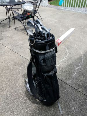 Golf clubs with Tarton pull cart for Sale in Henrico, VA
