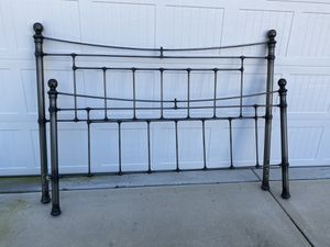 Pottery Barn Iron Bed for Sale in Wilmington, NC
