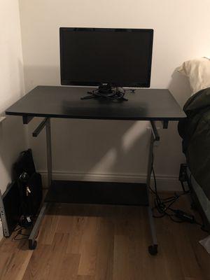 Black Desk - includes Acer monitor for Sale in Nashville, TN
