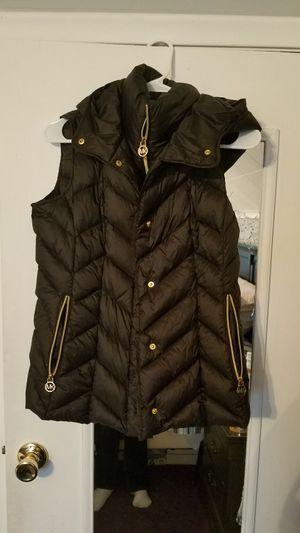 Michael kors black puffer vest for Sale in Lincoln Park, MI