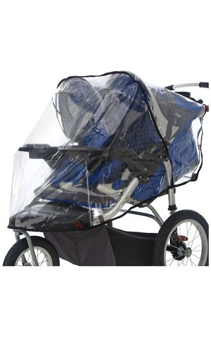 Double jogger stroller rain cover for Sale in Lynnwood, WA