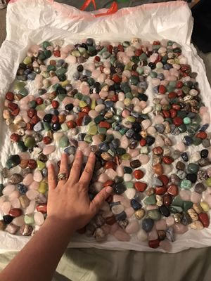 500 mixed healing stones lot for Sale in Mission Viejo, CA