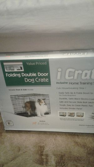 I CRATE folding dog cage medium 1530DD new never opened for Sale in Jersey City, NJ