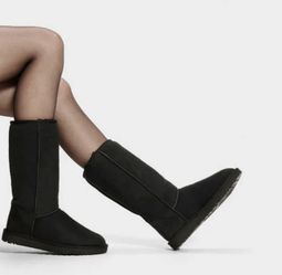 UGG Australia Classic Tall Black Shearling Boots for Sale in San Diego,  CA
