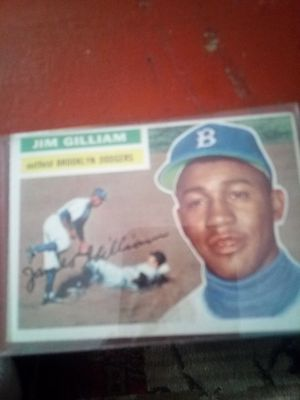 Jim Gilliam baseball card for Sale in Ansonia, CT
