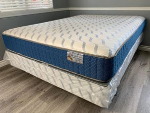 Queen supreme orthopedic mattress and boxspring for Sale in Costa Mesa, CA