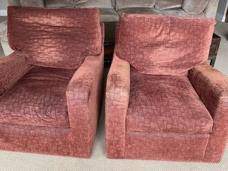 2 Designer Swiveling Arm Chairs for Sale in Woodinville,  WA