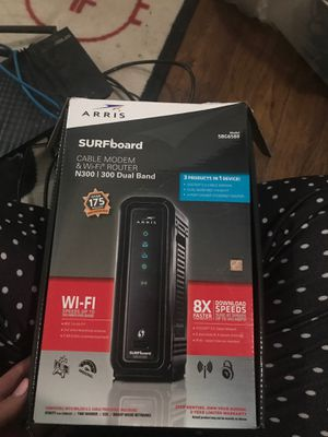 Cable modem and WiFi router for Sale in Fresno, CA