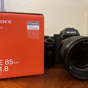 Sony 85mm FE F1.8 E-mount Lens for Sale in Ooltewah, TN