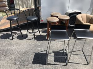 Lot for bar stools $50 each set for Sale in Orlando, FL