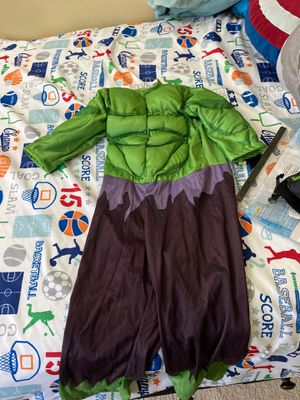 Hulk costume size 2-4 for Sale in Frederick, MD
