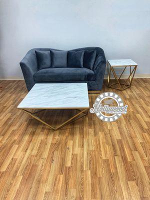 Grey velvet living room set for Sale in Smyrna, GA
