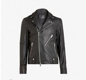 AllSaints Naoki Biker Leather Jacket for Sale in Marina del Rey, CA