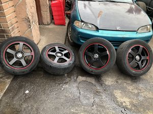 16in 5 lug universal rims for Sale in Rutherford, NJ