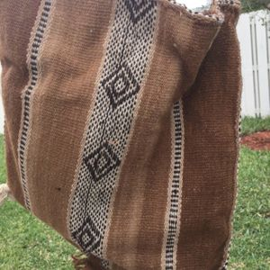 Andean Shoulder Bag Alpaca Blend Handmade Artisan Peru Tote for Sale in Hollywood, FL