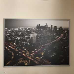 Large Los Angeles Canvas Like New Condition for Sale in Hayward, CA