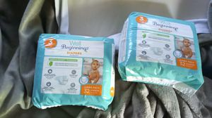 Well beginning size 3 diapers for Sale in Federal Way, WA