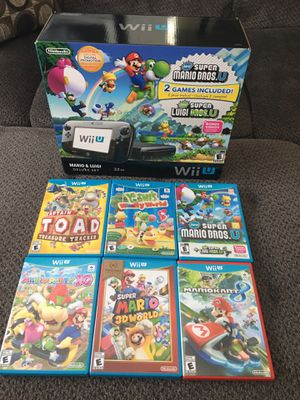 Nintendo Wii U Mario and Luigi deluxe for Sale in Rancho Cucamonga, CA