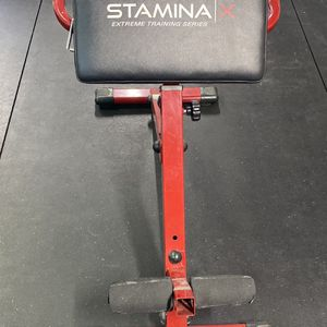 Stamina Hyper Bench Red for Sale in Fontana, CA