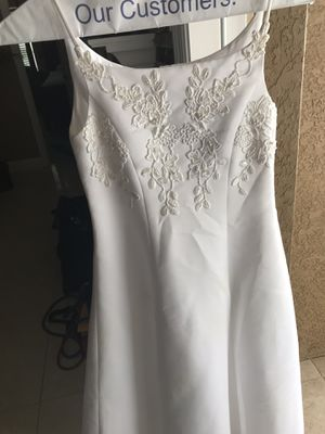 Flower girl dress white for Sale in Plant City, FL