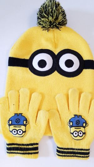 Minion Hat Set for Sale in Victorville, CA