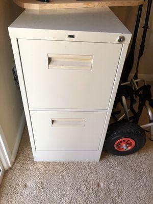 2 Drawer Metal File Cabinet for Sale in Herndon, VA